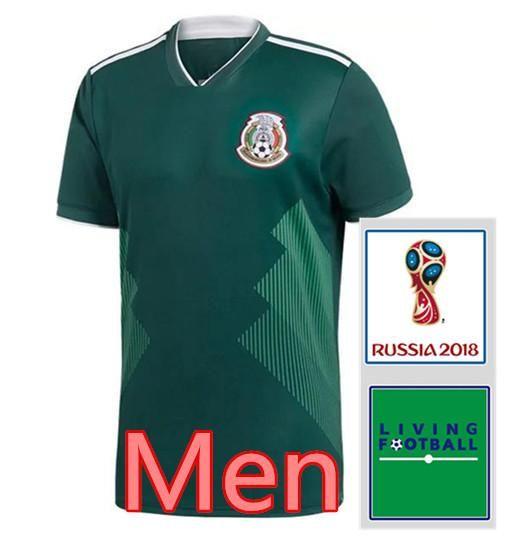 2018 World Cup Mexico Soccer Jersey Thai Quality Men Mexico CHICHARITO G.DOS  SANTOS M.LAYUN Football Shirt 18 19 Home Soccer Shirt UK 2019 From Ftboy 99d890e12