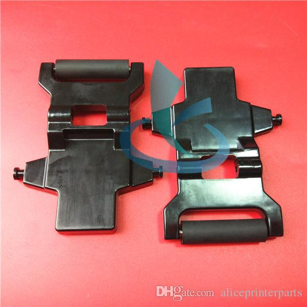 DHL wide large format printer Xuli rubber roller component /Xuli Konica KM512 paper pinch roller assembly