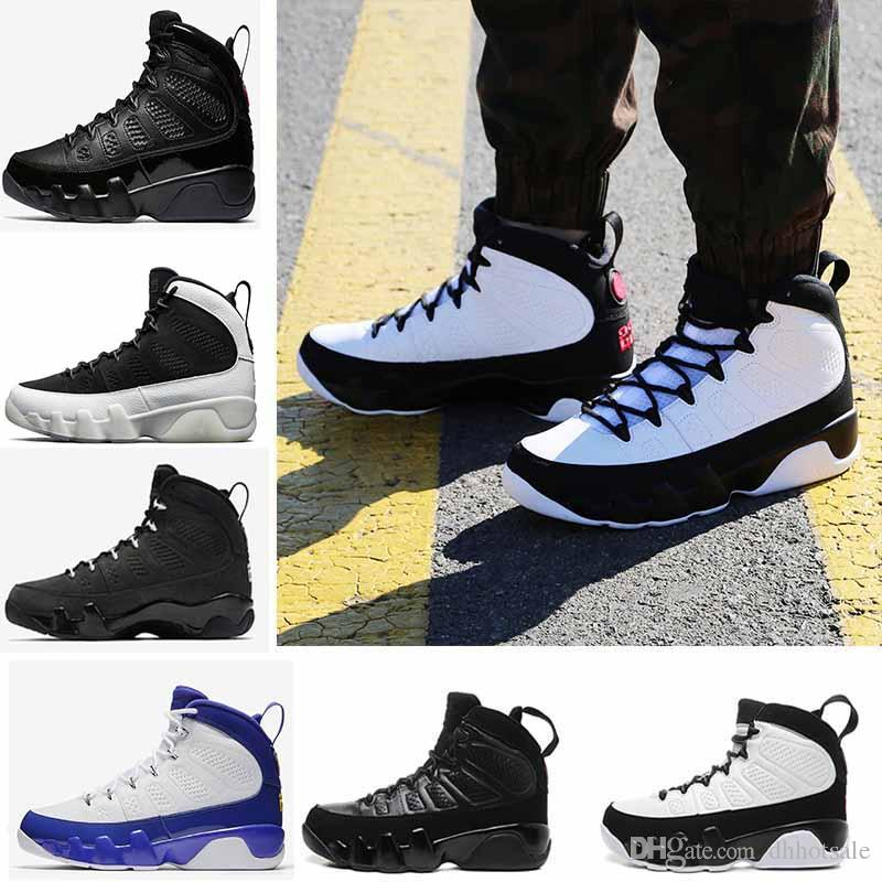 fdaa334c7be23b Basketball Shoes 9 Mens OG Space Jam LA Bred 9s Anthrac The Spirit ...