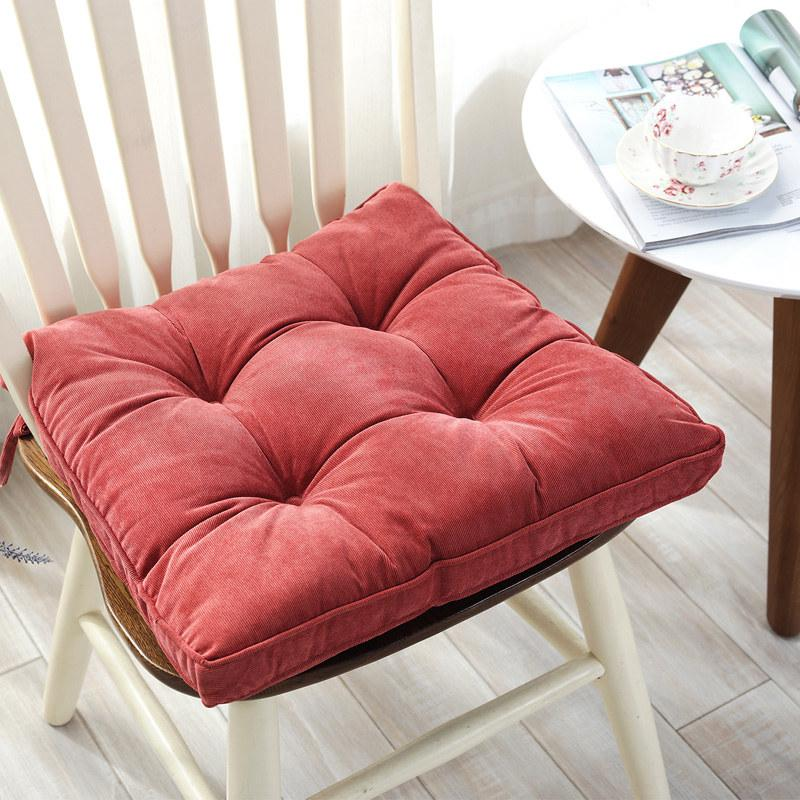 Square Thick Chair Seat Cushion Big Size Office Chair Sitting Cushion  Mattress Multiuse Floor Seat Cushion Sitting Mattress Pad Fall Outdoor  Pillows ...