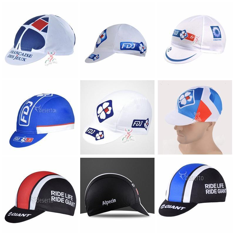 GIANT Team Cycling Caps 2018 New FDJ Sport Cycling Caps For Men Women Wear Bicycle  Caps Breathable G0906 UK 2019 From Sportvip2018 c1fd5dca8b38