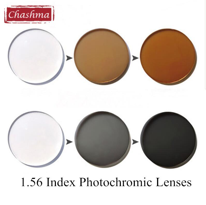 0783f03851 2019 Chashma 1.56 Index Photochromic Glass Anti Reflective Chameleon UV Lenses  Anti Scratch Transition Lenses From Hilaryw