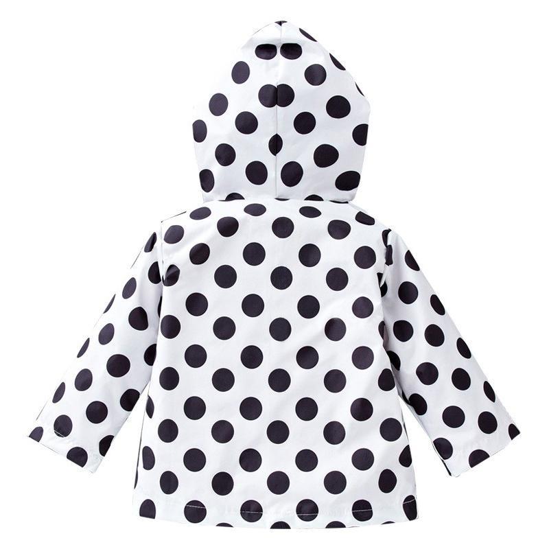 2017 moda crianças à prova d 'água jaqueta dos desenhos animados hoodies roupas infantis bebê meninas capa de chuva casacos outono meninas jaqueta