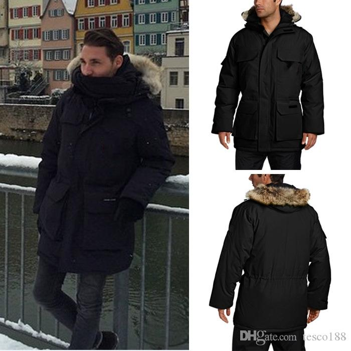 2018 New Arrival Sale Canada Men S Winter Jacket Coat Parka Sale With  Outlet UK 2019 From Tesco188 e57fc8642d3