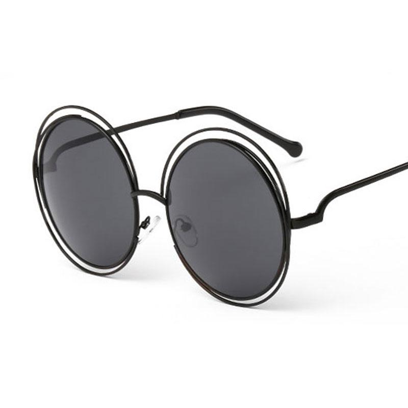 32883cbd31 Ladie Design Big Metal Frame Popular Women Hollow Out Round Lens Sunglasses  Hollow Round Beautiful Accessory Glasses Many Colors Vintage Heart Shaped  ...