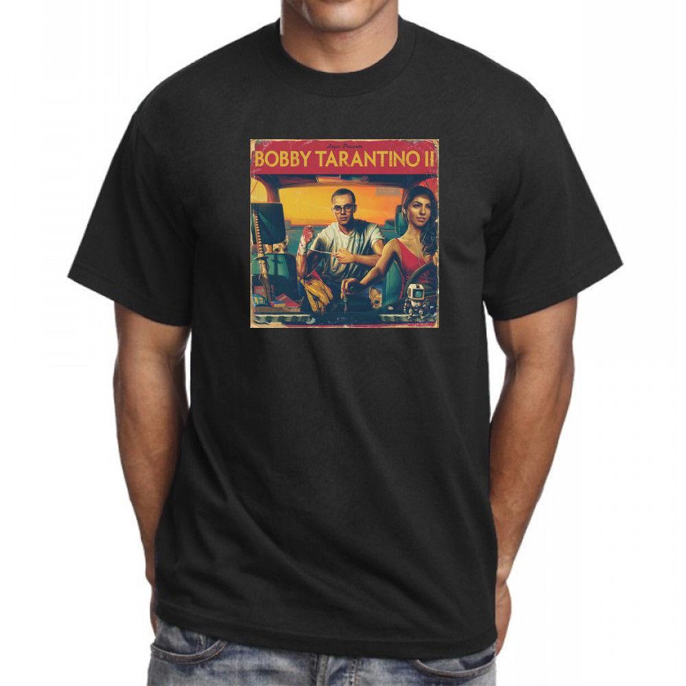 Custom T Shirts Cheap Mens Logic Bobby Tarantino Ii 2 T Shirt Hip