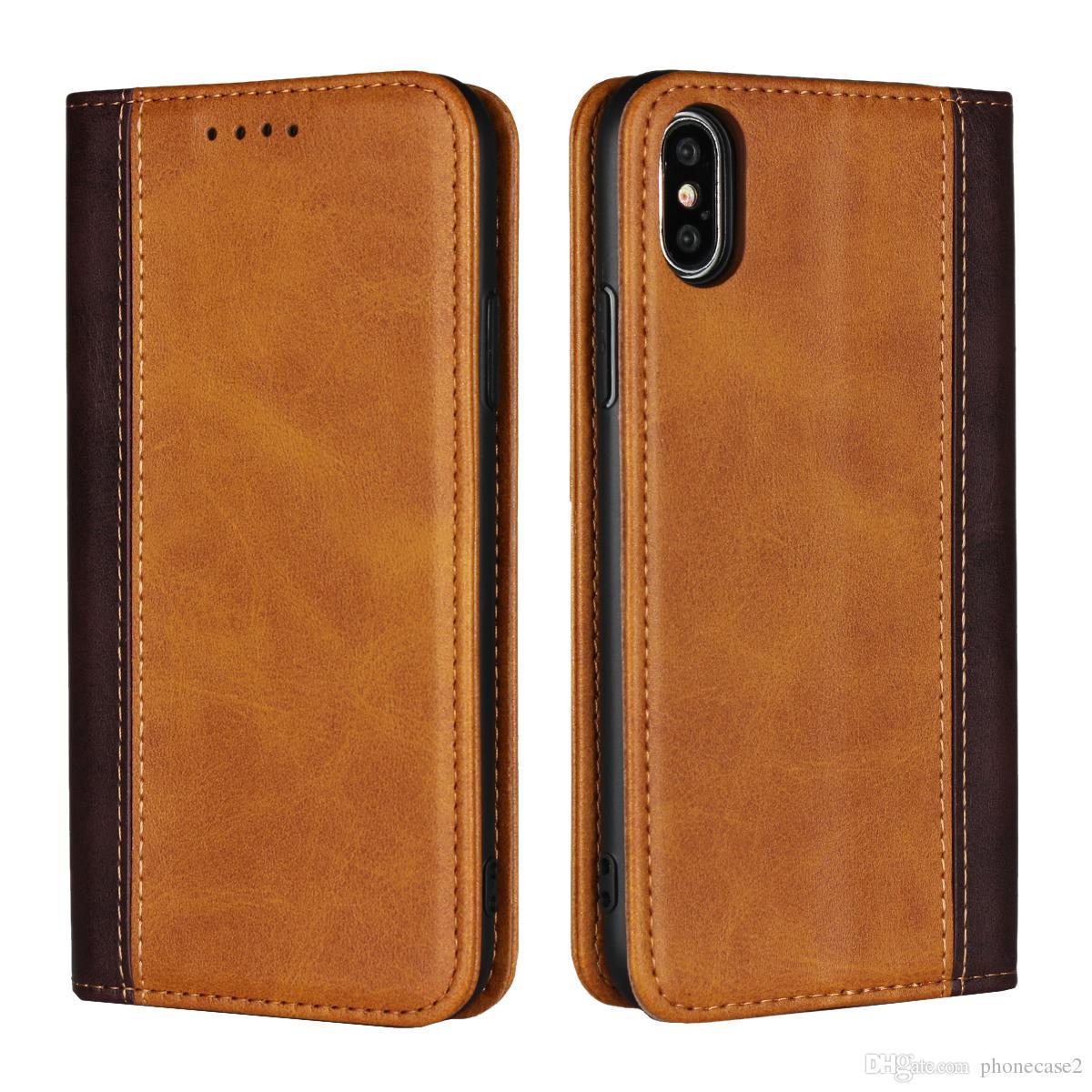 e653e4b38e0 Fundas Universales Para Moviles Funda Con Tapa De Cuero Para IPhone XS Max  DNGN Funda Magnética Con Tapa De Cuero Para IPhone XS MAX 6.5 '' Funda Con  Tapa ...