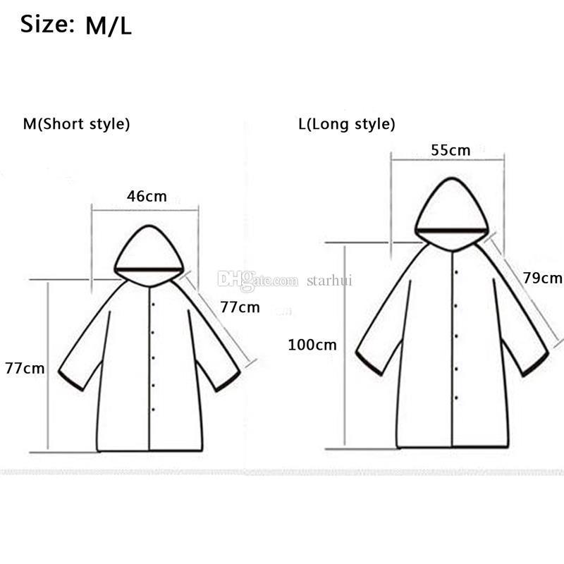 Neue Regenmäntel EVA Wasserdicht Transparent Regenmantel Modische Frauen Regenkleidung Regen Mantel Jacke Regenbogen Fringe Kleidung Regen Getriebe WX9-379