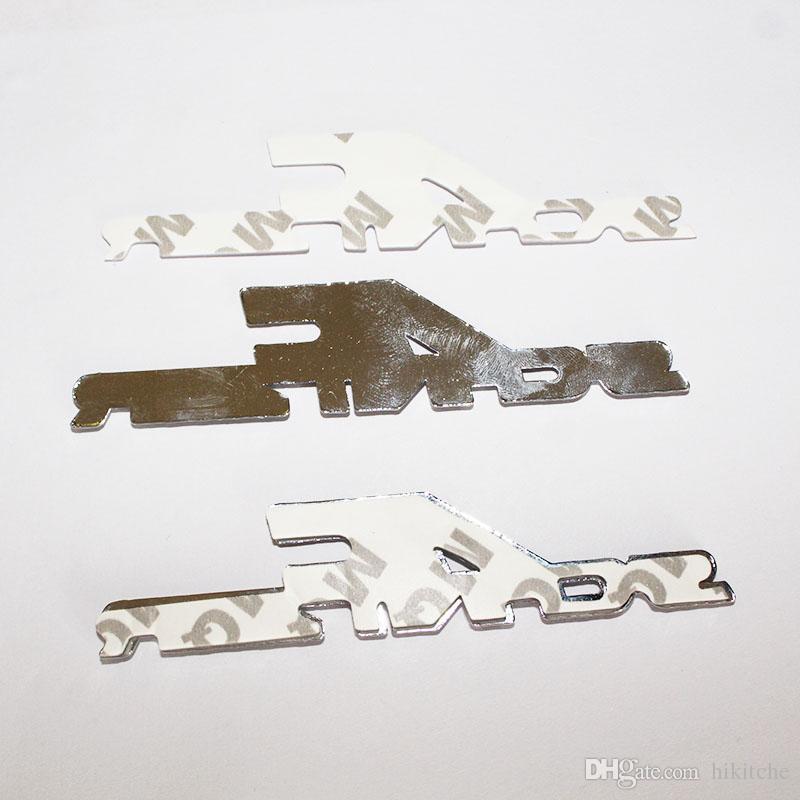 3 차원 금속 AC Schnitzer 자동차 로고 배지 엠 블 럼 자동 스티커 자동차 데 칼 3 M 접착제에 대 한 BMW 자동차 스타일링 스티커 액세서리