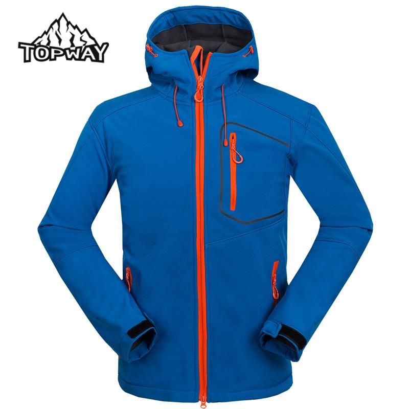 Homme Softshell Hooded Veste Outdoors Travel Spring Trekking 2017 qxw7HX
