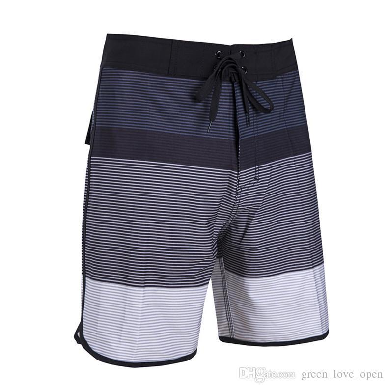 dfffa62324 2019 Swimwear Men Quick Dry 4 Way STRETCH Boardshorts Board Shorts Bermuda Swimming  Trunks Surf Beach Shorts Swimsuit Elastic From Green_love_open, ...