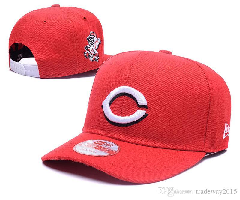 Compre Sombreros Ajustados Sombrero De Sol Sombrero De Cincinnati Gorras  Rojas Equipo De Béisbol Equipo Bordado Brim Plano Adulto Gorra De Béisbol  Gorras ... fe8a8f796b3