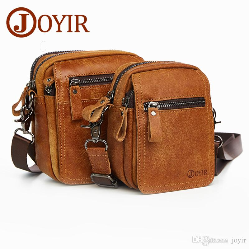 Wholesale Vintage Genuine Leather Crossbody Bags Men Messenger Bags Small  Travel Waist Pack Belt Leather Multi Functions Bags 6335 Messenger Bags For  Women ... 2f57992b32709