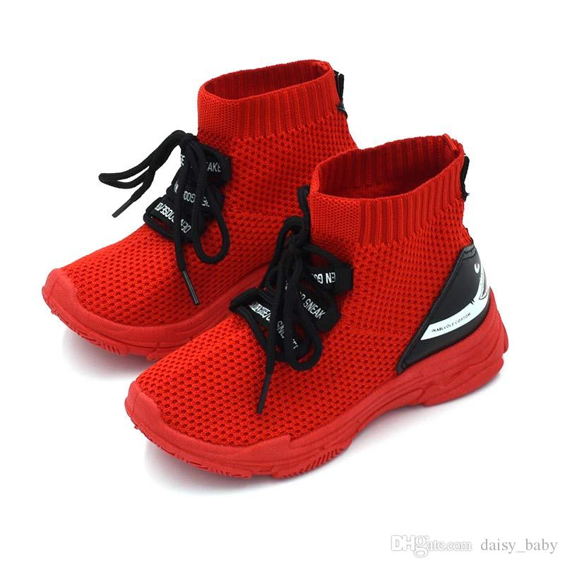 Unisex Casual Children Shoes For Girls Shoe Boys Sneaker Kids Sock