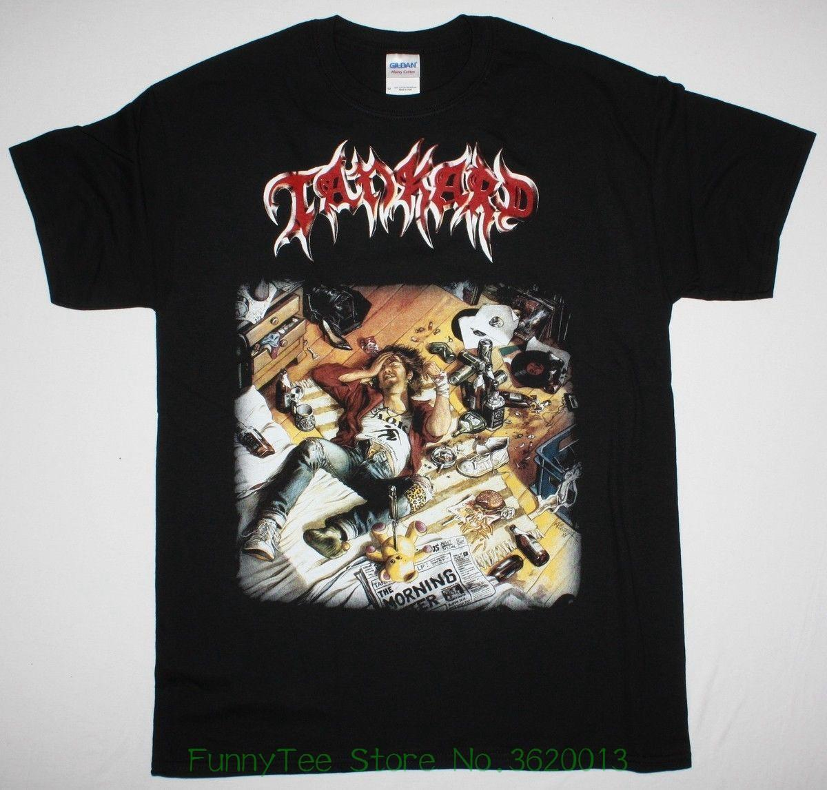 f32f3f3b Tankard The Morning After Thrash Metal Sodom Destruction New Black T-shirt  Online with $28.54/Piece on Crazyteestore's Store | DHgate.com