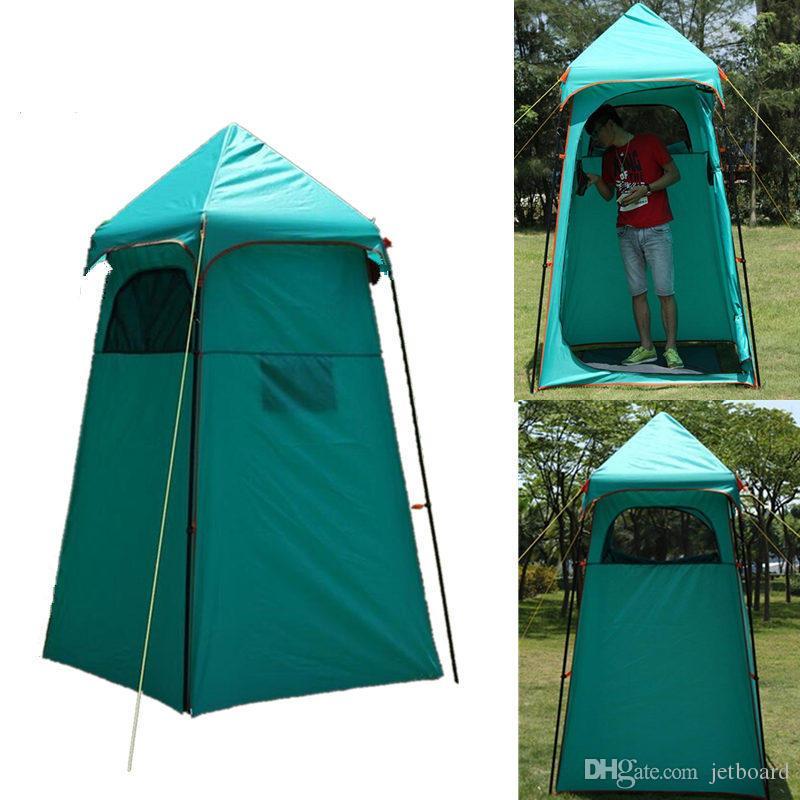 Waterproof Shower Tent Dressing Changing Room Bathing Tent Uv ...