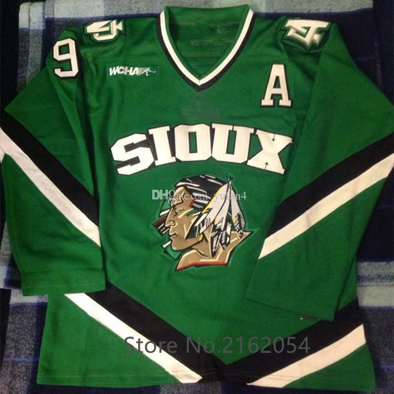 2019 North Dakota Fighting Sioux  9 Jonathan Toews Ice Hockey Jersey Mens  Stitched Custom Any Number And Name Jerseys From Yufan4 d280b45a9