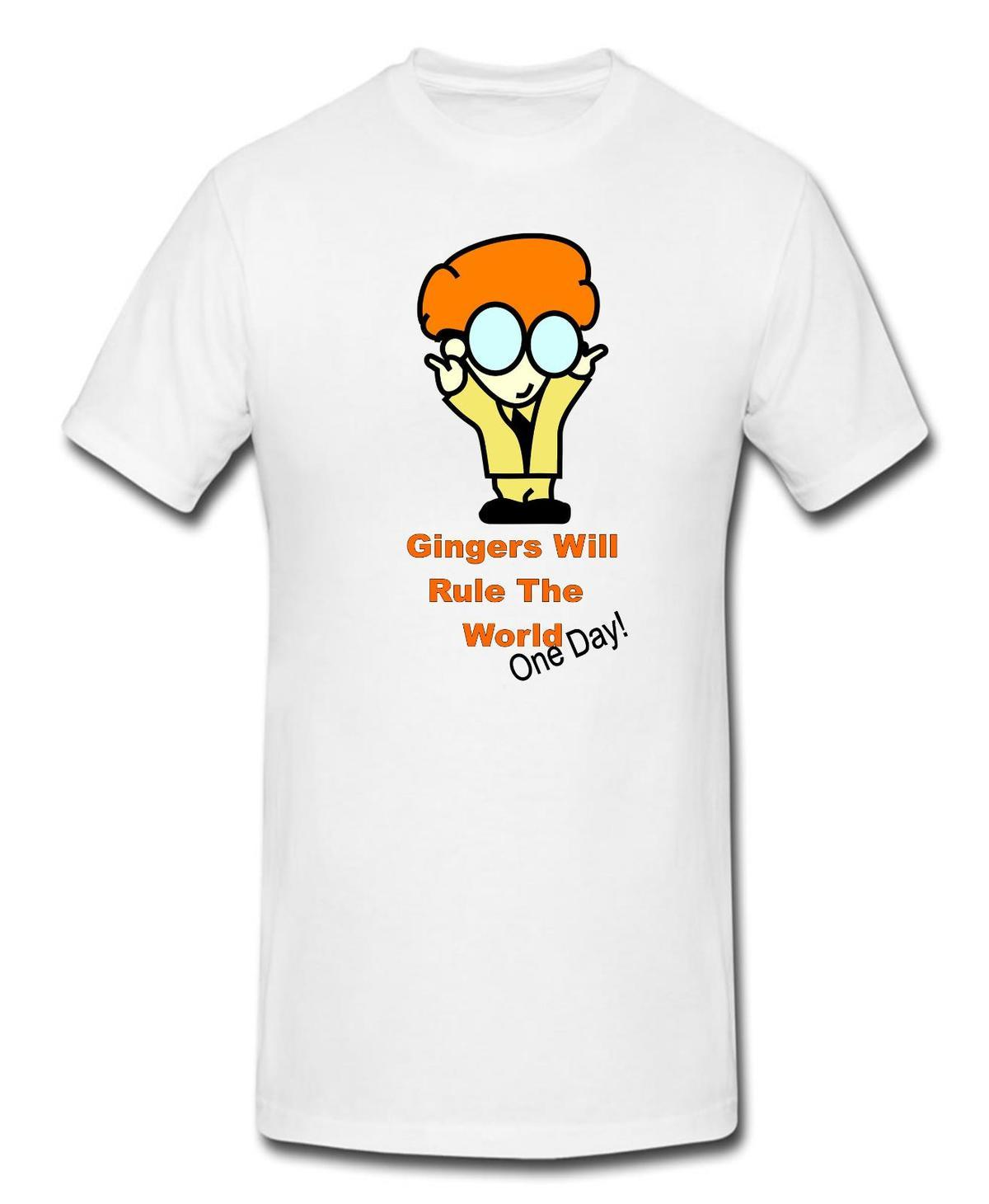 0e496a199 Gingers Will Rule The World One Day Novelty Stag Night Hair Novelty T Shirt  Funny T Shirts For Sale Awesome T Shirt Design From Amesion46, $12.08|  DHgate.