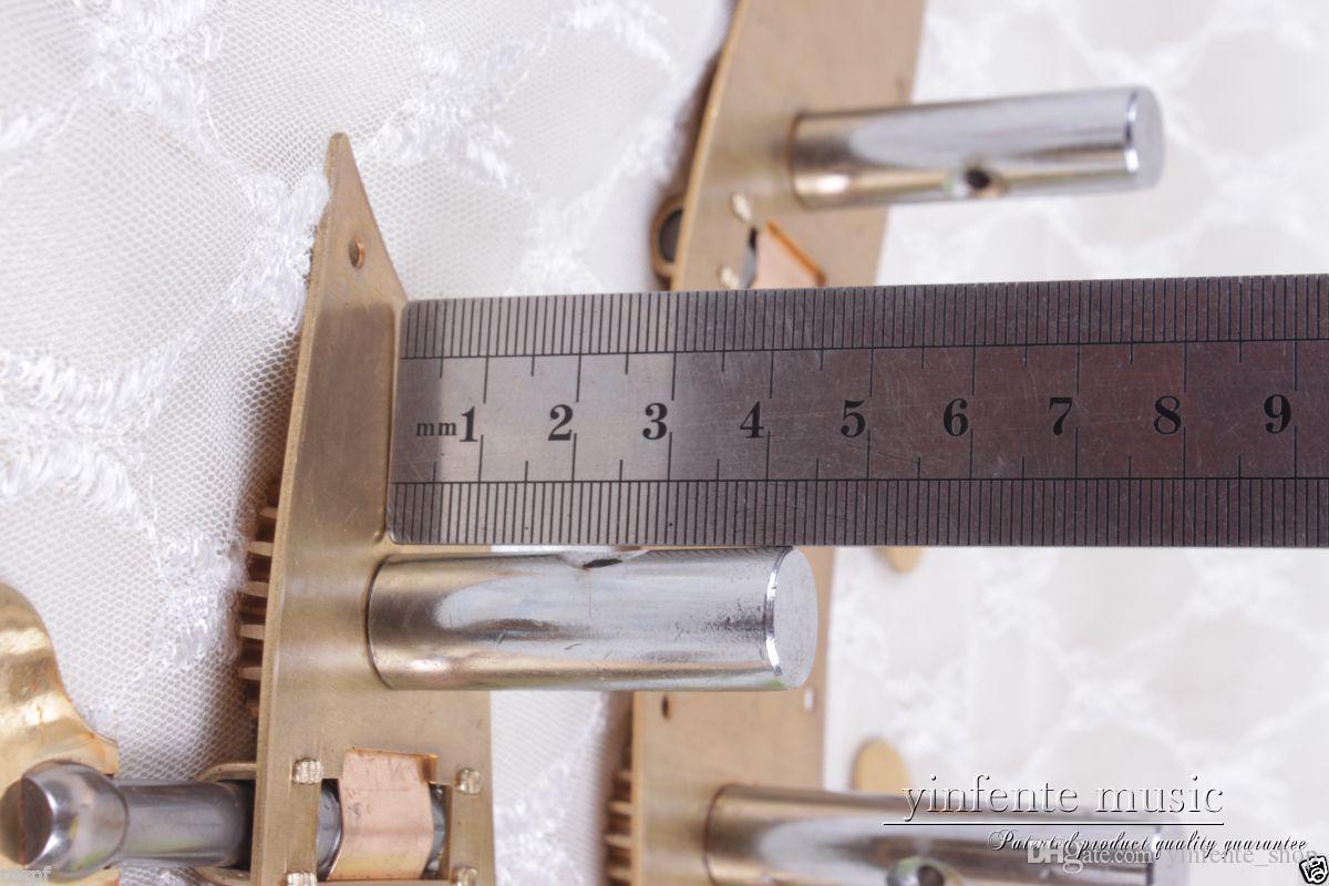 Ücretsiz Kargo 4/4 3/4 dik çift bas peg Dize Ayarlayıcı Sarıcı Bas keman peg Yapışık Yinfente Marka # 3