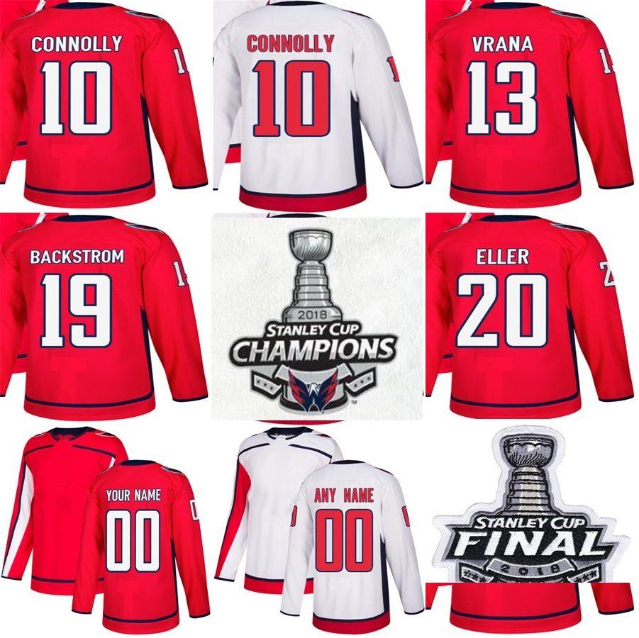 c3f261a68 2018 Stanley Cup Final Champions Washington Capitals 10 Brett ...