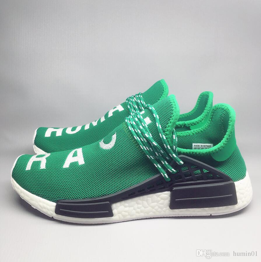 3706a422173b5 2018 Hot Sale Human Race Pharrell Williams Sports Casual Shoes Size ...