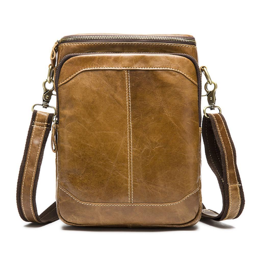 449c94c88d 2017 Men s Hot Selling 100% Genuine Leather Bags Men Bag Men ...