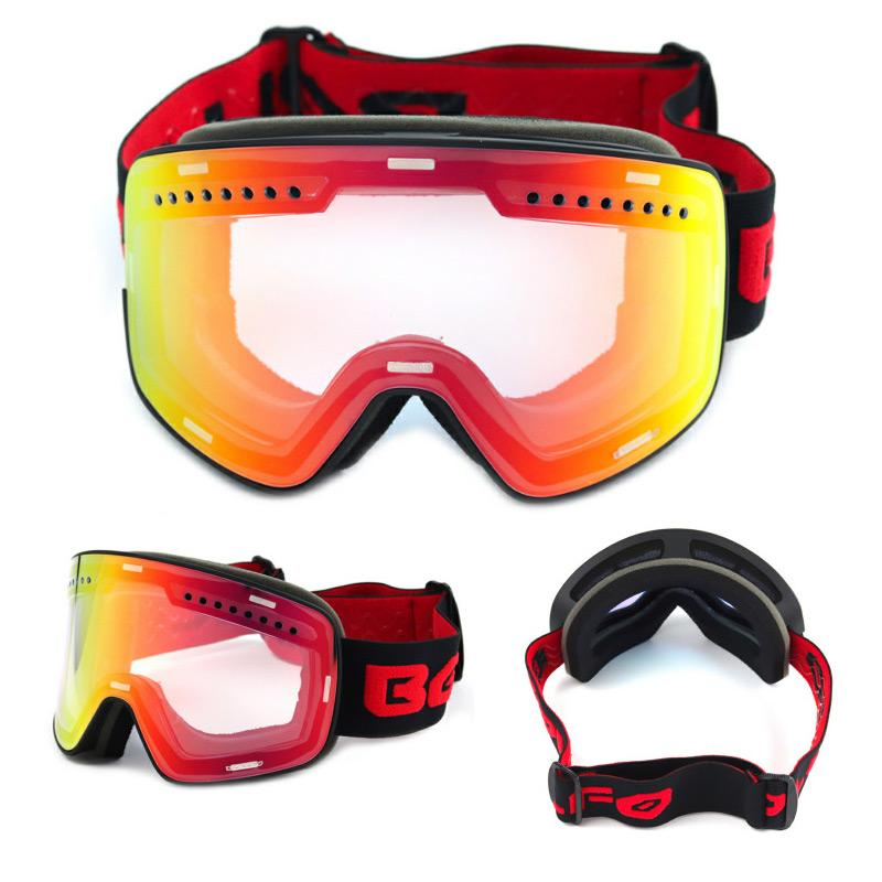 af40331a2a85 2019 Winter Magnetic Connection Ski Goggles UV400 Anti Fog Ski Mask Snow  Glasses For Men Women Snowboard Skiing Goggles From Tianmaoku