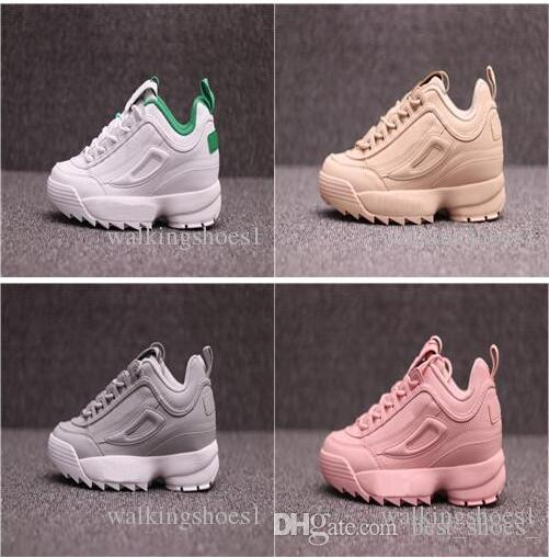 New Brand DISRUPTORS 2 Outdoor Shoes The 2 generation of destroyers Women men's retro sneakers sports shoes,casual shoes,Athletic Shoes