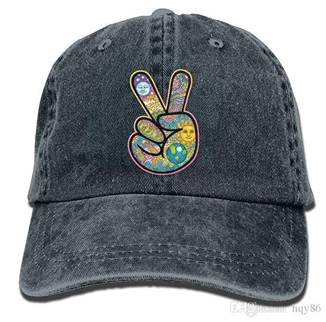 V Peace Sign Victory Hand Unisex Cowboy Cap Custom For Man And Woman Multi  Color Optional Baseball Caps Custom Hats From Hqy86 b9562abebf2