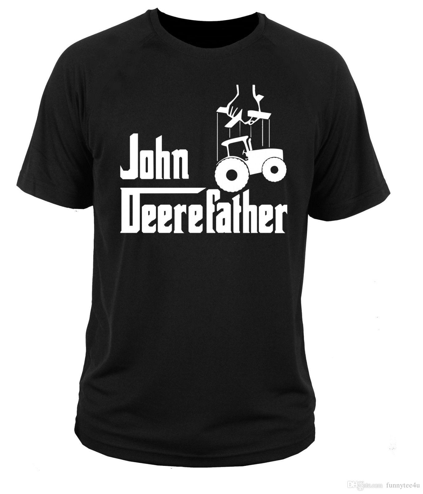 T Shirt T-Shirt John Tractor Farm Deere Roll Tee Shirt for Men Cool Custom Short Sleeve Valentine's Plus Size Party T-shirts