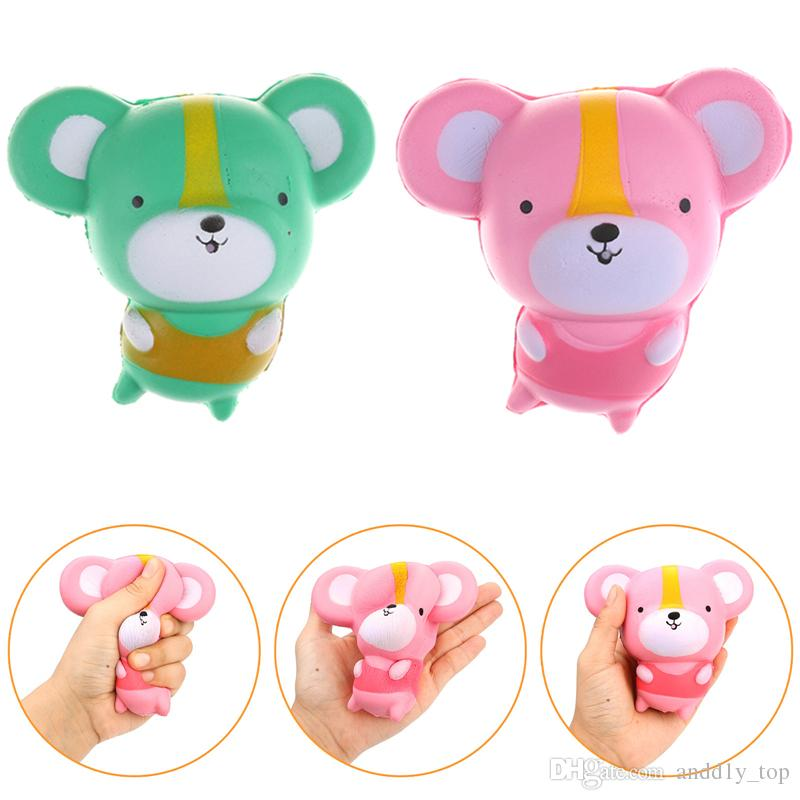 Squishy kawaii mouse lento aumento giocattoli topi nuova decorazione animali profumo squishies relax cute rat anti stress freeshipping SQU027