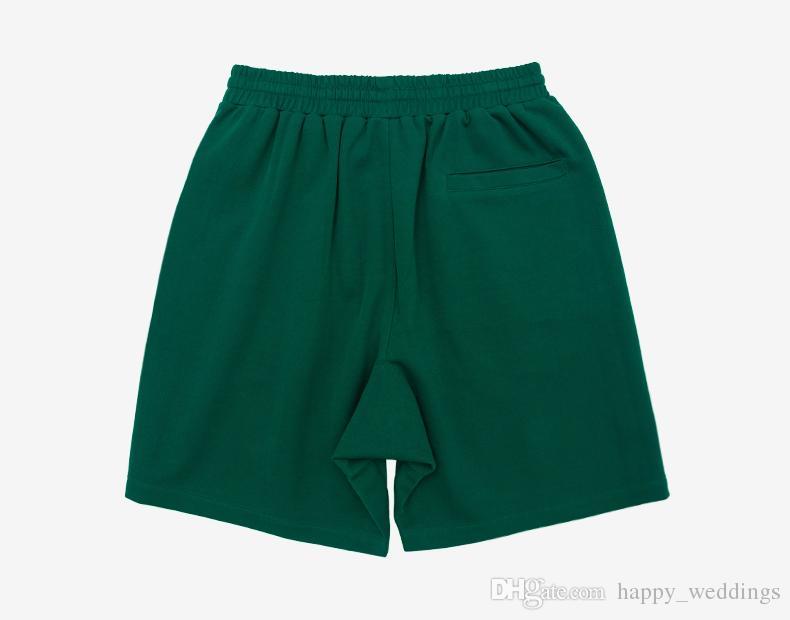 Men's Shorts Black White Plaid Side Stripe Short Sweatpants High Street Summer Elastic Waist Male Casual Track Shorts