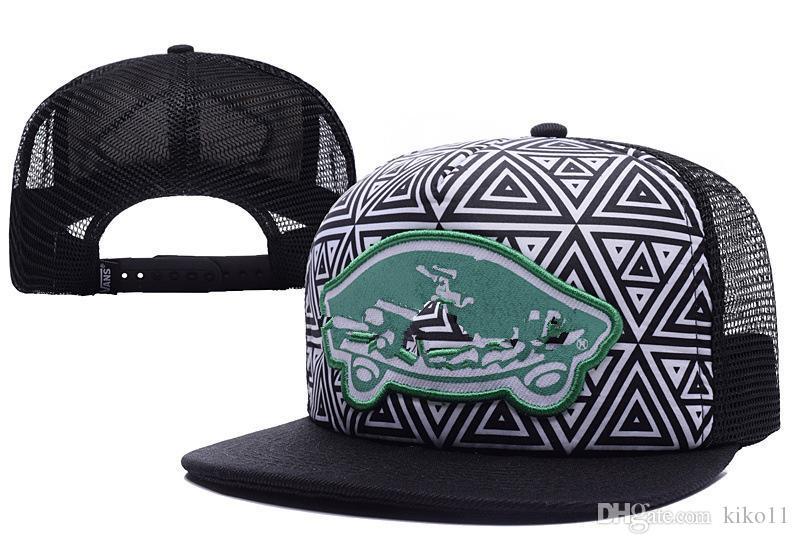 2018 Men Hats Team Logo Adjustable Casual Caps Hip Hop Flat Visor Hat Van  Snapback Hat Cap Hat Flat Caps For Men From Kiko11 964a6da8739