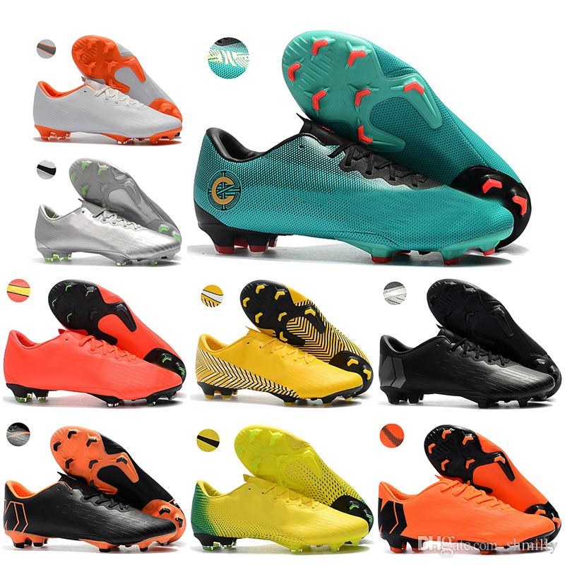 baa326860da4 New Arrived Mens Low Ankle Football Boots CR7 Mercurial Vapor XII ...