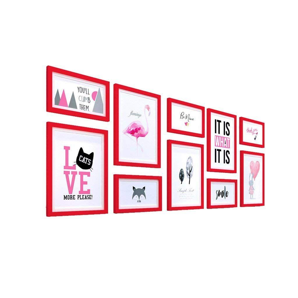 Photo Wall Multiple Combinations, Irregular Combination Frames, Art ...