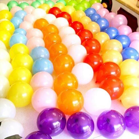 10 Zoll 1.2gram Partei-Dekoration-Latex-Ballons verdicken basierte perlglänzende Hochzeitsgeburtstagsfeier-Versorgungsmaterialien runder festlicher Ballon /