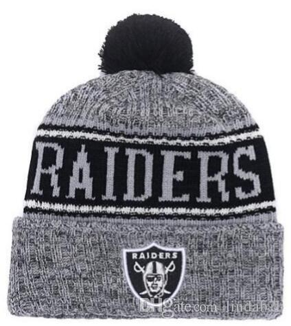 2019 2019 Team Raiders Beanies Caps Pom Sports Hat Men Women 32 Teams All  Caps Knitted Hat Top Quality Hat More 5000+Styles From Lindab2b 2cf24cbb2d0