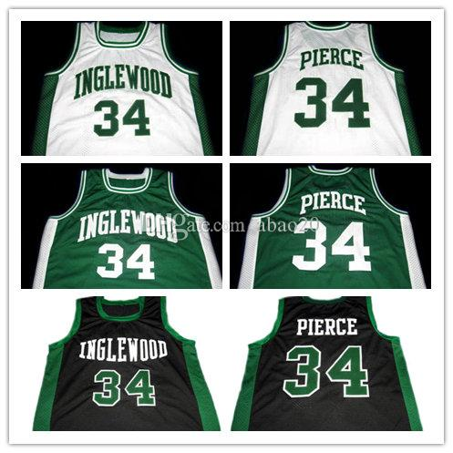 PAUL PIERCE INGLEWOOD HIGH SCHOOL Basketball Jersey Men S Embroidery  Stitches Customize Any Number And Name Jerseys UK 2019 From Abao20 0df52b444