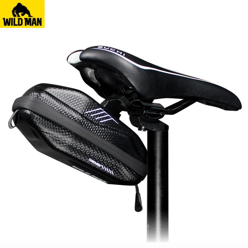 7774b06242e3 WILDMAN Bicycle Seat Bag Waterproof Anti Pressure Road MTB Cycling Saddle  Bag Repair Tools Storage Panniers Bike Accessories Bicycle Bags   Panniers  Cheap ...