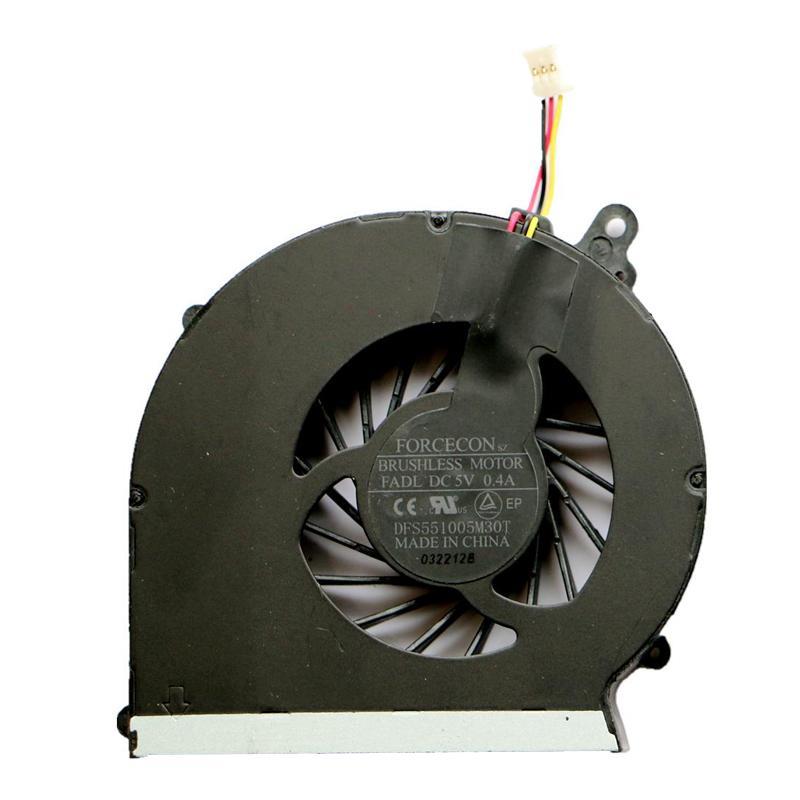 Genuine NEW Laptop Heatsink CPU Cooling Fan For HP CQ43 430 431 435 436 cpu Cooler 646180-001 DFS551005M30T