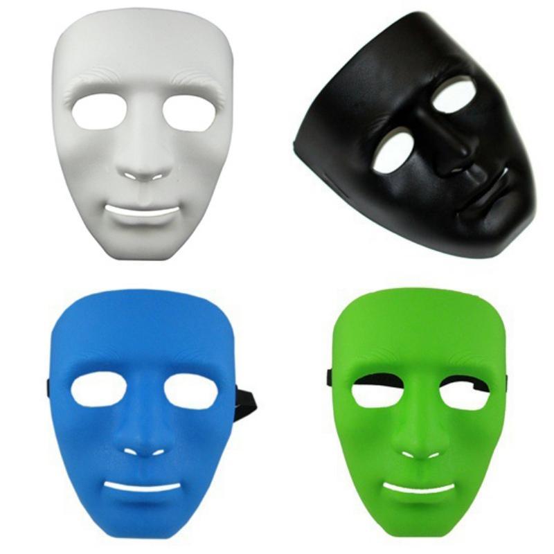 f5c8a24077e45f JabbaWockeeZ Bboy Máscara Masculina Homens Hip-hop Street Passo Dança Mais  Cores Máscara Do Partido Moda Para Homens 4 Branco Preto Verde Azul