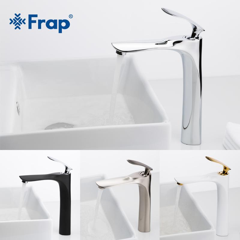 2019 Frap Tall Basin Faucets Bathroom Faucet Hot And Cold Water