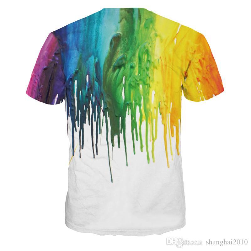Mode TNO Hommes Mode 3D T-shirt nouveauté streetwear occasionnel hommes et femmes en tête à manches courtes Creative Tees imprimés T-shirts d'extérieur