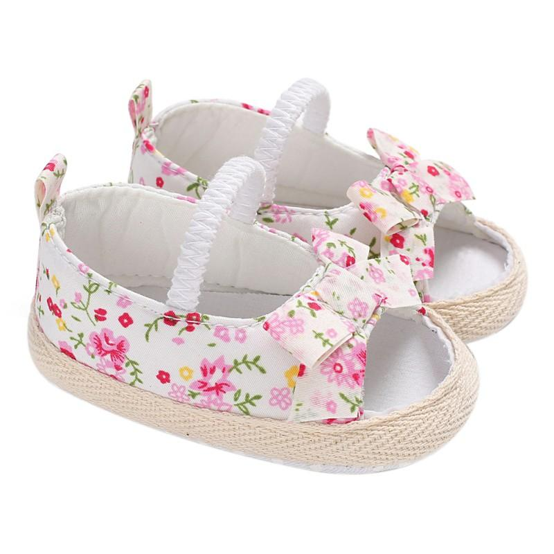 d15c50fcba01b 2019 Baby Girl Shoes Bowknot Newborn Infant Outdoor Princess Baby Shoes  Sneaker 0 18 Month From Yohkoh
