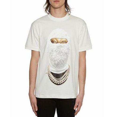 051b7bbd1c505 Acheter IH NOM UH NIT T Shirt Masque Face Impression Blanc Noir T Shirts  Manches Courtes Femmes Hommes Couples Hip Hop Tops Club Chemise SHH0408 De   19.5 Du ...
