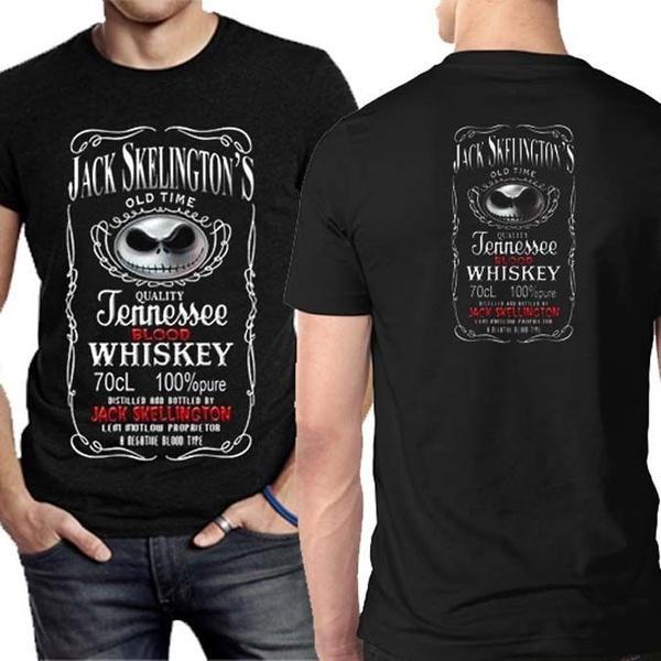 Compre Jack Skellington Nightmare Before Christmas Camiseta Para Hombre A   34.18 Del Hippopotamus6  73400730d3e5f