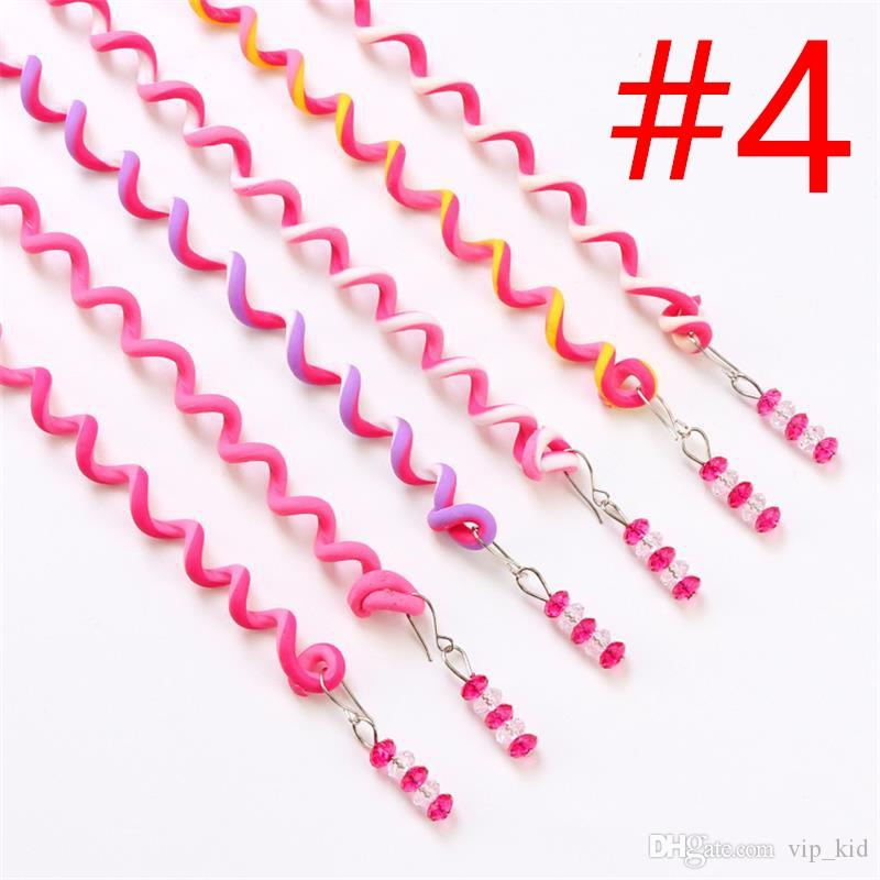 6 in 1 Multicolor Women Girl Hair Styling Twister Clip Braider Tool DIY Accessories