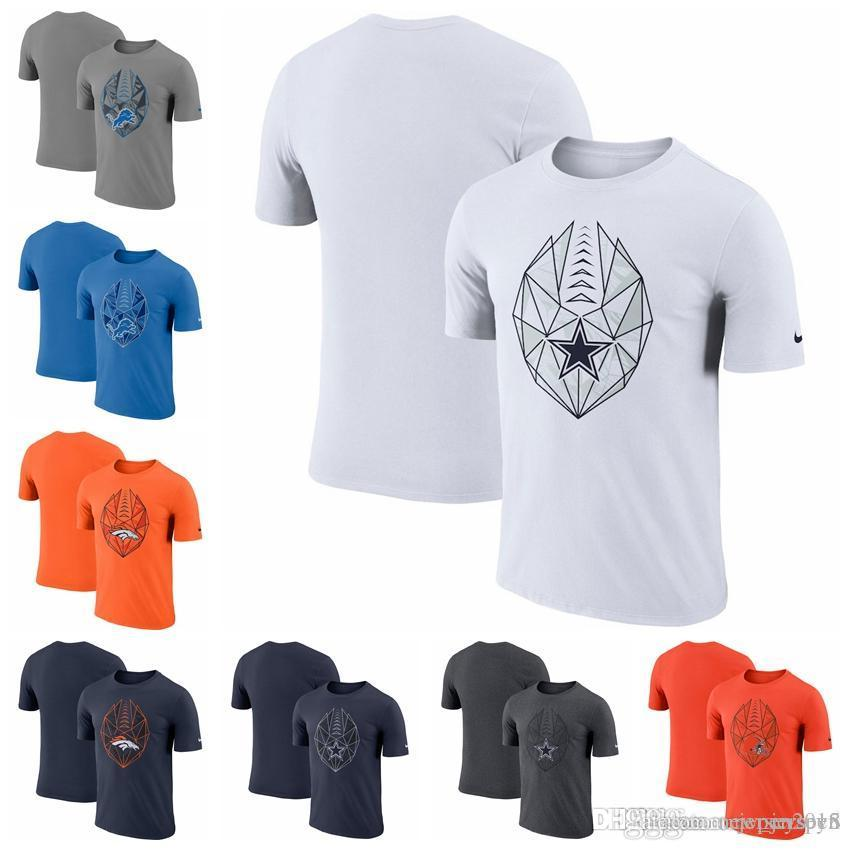 promo code 9ef07 f1aca October 1st Discount SALES Promotio Denver Broncos Dallas Cowboys Cleveland  Browns Green Bay Packers Fan Gear Icon Performance T-Shirt