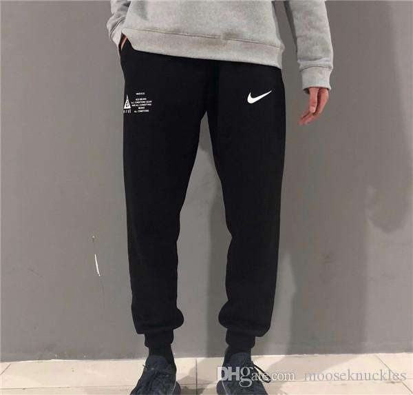 18FW New ACG All Conditions Gear Warm Elastic Waist Trousers Women Men  Fashion Sport Joggers Sweatpants Outdoor Pants Online with  59.18 Piece on  ... 2715cb20bcc5