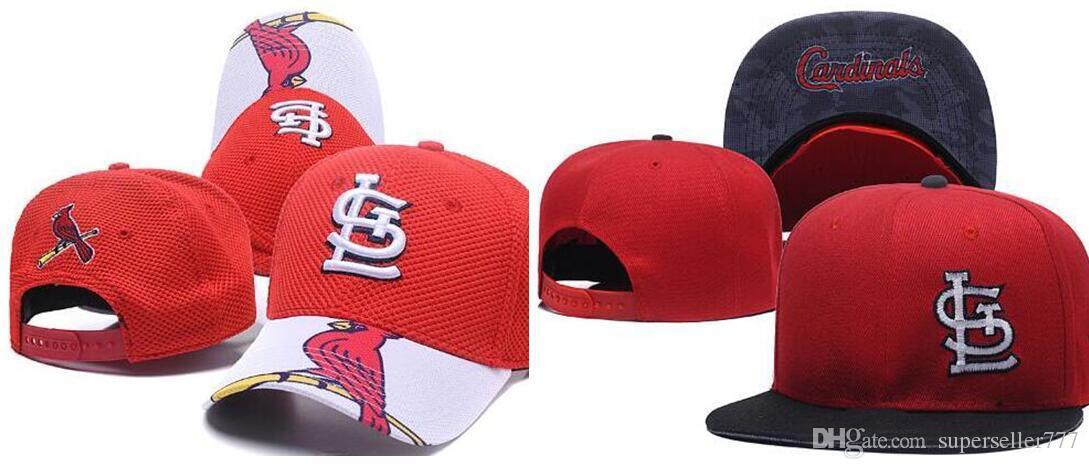 Compre Nuevo Diseño De Marca Cardinals Cap LS Logo Hat Hombres Mujeres  Gorra De Béisbol Snapback Strapback Sólido Algodón Hueso Europeo Americano  Sombrero ... d4af6186931